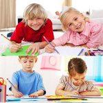 JTDEAL Crayon à Papier Flexible, 30Pcs Crayons de Couleur Pliable Souples 18cm avec Gomme pour Enfant Cadeau École de la marque JTDEAL image 4 produit