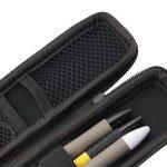 JTDEAL Crayon Étui Rigide, Anti Rouille Anti Chute EVA Coque Rigide, Plumier Support Stylet Crayon Cas Sac Pochette pour Stylo Plume, Stylo bille, Stylet Stylus ,Touch Pen, Crayon, Câble USB etc(Noir) de la marque JTDEAL image 3 produit