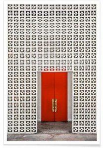 """JUNIQE® Affiche 30x45cm Architecture - Design """"The Parker"""" (Format : Portrait) - Poster, Tirages d'art & Tableaux par des artistes indépendants créé par Shot By Clint de la marque JUNIQE image 0 produit"""