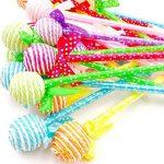 JZK 24 Nouveauté des stylos pour stylo à bille de sucette d'enfants joli stylo biro cadeau de papeterie pour les filles enfants fête d'anniversaire sac filler parti faveur de la marque JZK image 4 produit
