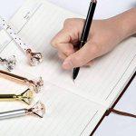 Kesoto 6pièces Stylo à bille avec Big Cristal Diamant Stylo à bille d'encre noire et 6pièces Recharges de stylo avec 6Sacs de Rangement de la marque KESOTO image 6 produit