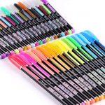 Kingcoo 48paquets de stylos à encre gel de couleur pour coloriage Adulte de dessin et d'écriture (12métallique Paillettes + 12+ 12+ 12Waterchalk Fluo), enfants Cadeau de Noël de la marque KINGCOO image 3 produit