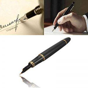 KINGSO Mat Jinhao Plume Stylo X450 M Fountain Pen Pour Cadeau Decoration Noir et Dorée de la marque KINGSO image 0 produit