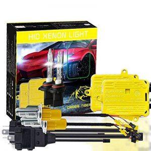 Kit Ampoule+Ballast Xénon HID Haute Performance Lumineux Lampe Frontale 55W H4-3 6000K-6500K HB2 9003-3 6000K 9-36V Bi-Xenon Véhicule Camion Xenon de la marque image 0 produit