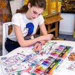 Kit de 100 stylos à gel pour art, dessin et livres de coloriage adultes - Obtenez des couleurs RARE dans ce kit de stylos de qualité Premium de la marque Colore image 3 produit