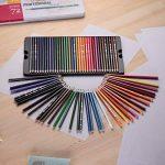 KKmoon 72Couleur Premium Pré-affûtée Ensemble de crayons de couleur à base d'huile avec boîtier en métal pour enfants adultes Artiste Art Dessin esquisse d'écriture illustrations livre de coloriage de la marque KKmoon image 3 produit