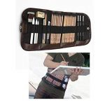 KOBWA Professionnel Croquis Set Multifonctionnel Bois Crayons avec Roll Up Rideau Sac, Hot 8 In 1 Set de Crayons à Dessin Outil Pour Artiste avec Bonne Qualité de la marque KOBWA image 1 produit