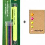 Koh-I-Noor Crayon de Tailleur en Plastique, Craie à Marquer, Couleurs Assorties, Accesoires de Couture et intervisio Blocs de Notes Repositionnables - Bundle de la marque intervisio image 2 produit