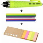 Koh-I-Noor Crayon de Tailleur en Plastique, Craie à Marquer, Couleurs Assorties, Accesoires de Couture et intervisio Blocs de Notes Repositionnables - Bundle de la marque intervisio image 1 produit