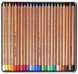 Koh-I-Noor Crayons d'Artiste Crayons pastels doux (Set de 24) de la marque Koh-I-Noor image 0 produit