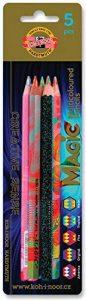 KOH-I-NOOR MAGIC 3406 Jumbo Special Crayons de couleur Maqique dans un Paquet blister de la marque Koh-I-Noor image 0 produit
