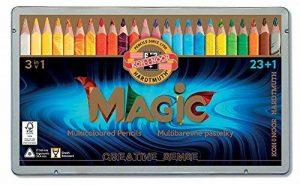 Koh-I-Noor MAGIC Jumbo Crayon de Couleur Triangulaire (Lot de 24) de la marque Koh-I-Noor image 0 produit
