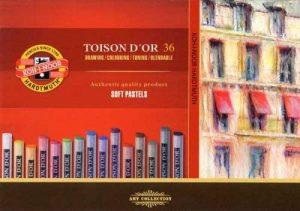 Koh-I-Noor TOISON D'OR 8515 Crayons Pastels Doux pour l'Artiste (Pack of 36) de la marque Koh-I-Noor image 0 produit