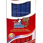 Kores Lot de 6 crayons géants triangulaires 2 couleurs Bleu/rouge 3mm de la marque Kores image 1 produit