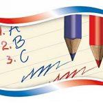 Kores Lot de 6 crayons géants triangulaires 2 couleurs Bleu/rouge 3mm de la marque Kores image 2 produit