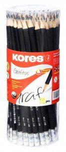 Kores Lot de 72 Crayon papier Grafitos bout gomme HB de la marque Kores image 0 produit
