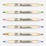 Kuretake Zig Brushable à double pointe (deux tons) Brosse Lot de stylos pastel de la marque Kuretake Zig image 3 produit