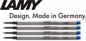 Lamy: Grande Recharge Rollerball M63: Couleur: Bleu, Taille: M, Lot de 4. de la marque Lamy image 0 produit