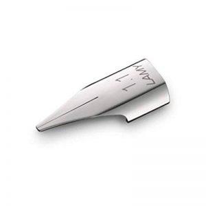 Lamy Plume de rechange en acier 1.1mm de la marque Lamy image 0 produit