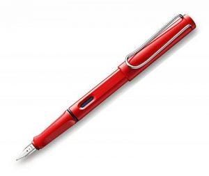 Lamy Safari Stylo plume avec pointe large rouge de la marque Lamy image 0 produit