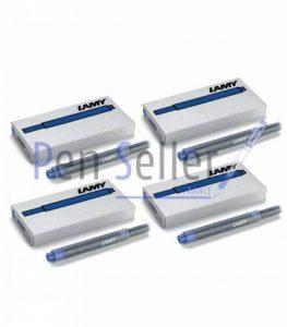 Lamy T10: Quatres Etuis de 5 Cartouches d'Encre, Couleur: Bleu (20 Cartouches au Total) de la marque OfficeMarket image 0 produit