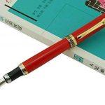 Lanxivi Duke Rouge stylo plume interchangeables asiatique Stylo de calligraphie Cuir pour stylo Ensemble Black Case de la marque Lanxivi image 2 produit