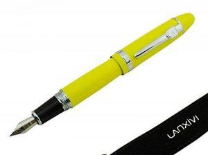 Lanxivi Jinhao 159 Stylo à plume Couleur Jaune Argent Intérieur Big lourd avec stylo de la marque Lanxivi image 0 produit
