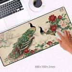 Le tapis de souris large haute définition d'une épaisseur de peinture et calligraphie peinture chinoise peinture La peinture de paysage 30*70 Le bureau du gestionnaire de bureau ,G de la marque LzxcJ image 3 produit