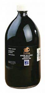 Lefranc Bourgeois Peinture Encre de chine nan-king Flacon 1 L Noir de la marque Lefranc & Bourgeois image 0 produit