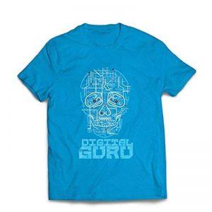 lepni.me T-Shirt pour Hommes Le gourou du numérique - Idées Cadeaux technologiques, informatiques, programmeurs ou Joueurs de la marque lepni.me image 0 produit