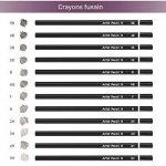 LOETAD 60PCS Crayons de Couleur avec Boîte en Métal Crayon de Coloriage Idéal pour Artiste Sketch Adulte Enfant de la marque LOETAD image 3 produit