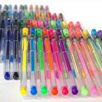 LolliZ Lot de 48 Stylos Billes à Encre Gel Multicolores de la marque LolliZ image 2 produit