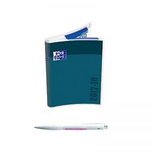 Lot Agenda Scolaire CREATION Personnalisable Zip Oxford Bleu Anthracite + 1 Stylo Blumie de la marque Blumie Shop image 0 produit