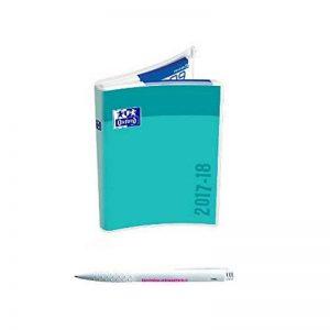 Lot Agenda Scolaire CREATION Personnalisable Zip Oxford Bleu Turquoise + 1 Stylo Blumie de la marque Blumie Shop image 0 produit