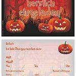 Lot de 12invitations/Halloween effrayant drôles Cartes d'invitation pour vos Halloween Party/Idéal aussi pour les anniversaires des Garçons et Filles/original artup de la marque ArtUp.de image 2 produit