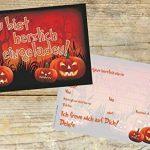 Lot de 12invitations/Halloween effrayant drôles Cartes d'invitation pour vos Halloween Party/Idéal aussi pour les anniversaires des Garçons et Filles/original artup de la marque ArtUp.de image 3 produit
