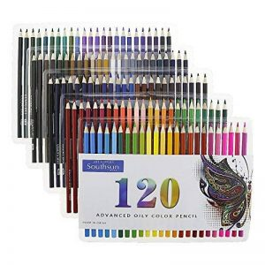 Lot de 120 crayons de couleur gras - Convient pour le coloriage et l'art - Pour adultes - Southsun de la marque Southsun image 0 produit