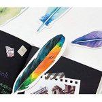 Lot de 30 Plume en forme de Marque-pages colorés pour hommes femmes enfants garçons filles de la marque image 4 produit