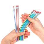 Lot de 30 Soft Flexible Bendy Pencils,Crayons Rigolos pour Fête d'enfants,Cadeau pour les Anniversaire Enfants de la marque TaleeMall image 2 produit