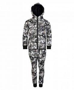 LotMart Enfants Géométrique imprimé Camouflage survêtement Cadeau Gratuit Stylo par Colis de la marque LotMart image 0 produit