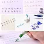 Lunji Stylo Pinceau Verre + 1.5ml Ink +Coffret Cadeau, pour Calligraphie, Dessin, Manga (2#) de la marque Lunji image 3 produit