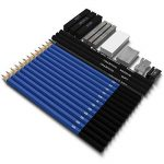 Lypumso Crayons de Dessin 26 Pièces Crayons Esquisse Crayons Set Draw Art Set avec Graphite Charbon De Bois Bâtons Outils de la marque Lypumso image 1 produit