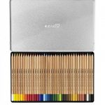 Lyra - Coffret métal de 36 crayons de couleur aquarellables Rembrandt - couleurs assorties de la marque Lyra image 1 produit