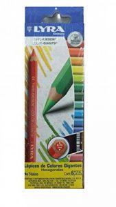 Lyra-crayon De Couleur Gros Module Assorti - Etui De 6 de la marque Lyra image 0 produit