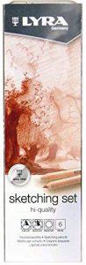 Lyra Rembrandt Hi-Quality Sketchingp 6pièce(s) crayon de couleur - Crayons de couleur (6 pièce(s), Bois, Multicolore) de la marque Lyra image 0 produit