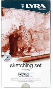 Lyra Rembrandt Hi-Quality Sketchingp Multi crayon de couleur - Crayons de couleur (Multi, Multicolore) de la marque Lyra image 0 produit