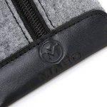 Maeo Trousse Sac de stylo feutre gris avec une fermeture Éclair pour 10–15stylos 9229332, stationnaire, USB, autocollant, câbles de la marque Maeo image 3 produit