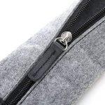 Maeo Trousse Sac de stylo feutre gris avec une fermeture Éclair pour 10–15stylos 9229332, stationnaire, USB, autocollant, câbles de la marque Maeo image 4 produit