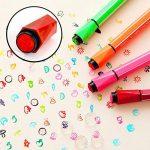 Magicdo 24 couleurs aquarelles stylos avec des timbres, lavable non toxique marqueurs colorés stylo pour enfants dessin, griffonnage et coloriage de la marque Magicdo® image 2 produit