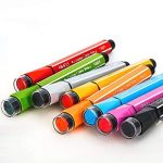 Magicdo 24 couleurs aquarelles stylos avec des timbres, lavable non toxique marqueurs colorés stylo pour enfants dessin, griffonnage et coloriage de la marque Magicdo® image 3 produit